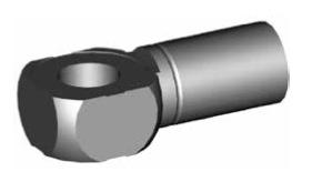 Raccordi ad occhio 10mm per freni  - GBHFB40