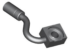 Raccordi ad occhio 10mm per freni  - GBHFB404