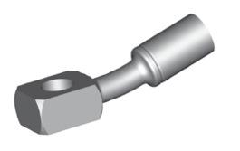 Raccordi ad occhio 10mm per freni  - GBHFB309