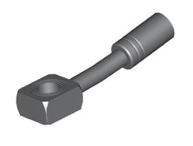 Raccordi ad occhio 10mm per freni  - GBHFB310