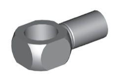 Raccordi ad occhio 16mm per freni  - GBHFB38