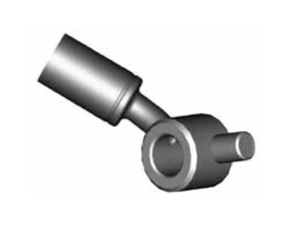 Raccordi ad occhio curvi per freni  - GBHFB348 - GBHFB349
