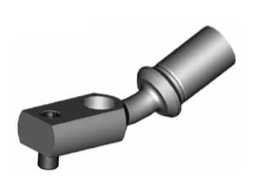 Raccordi ad occhio curvi 10mm per freni  - GBHFB31