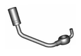 Raccordi ad occhio curvi 10mm per freni  - GBHFB93 - GBHFB92