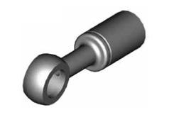 Raccordi ad occhio diritti 10mm per freni  - GBHFB01