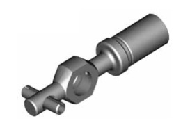 Raccordi ad occhio diritti 10mm per freni  - GBHFB03