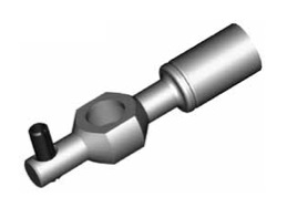 Raccordi ad occhio diritti 10mm per freni  - GBHFB05