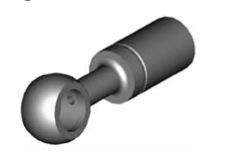 Raccordi ad occhio diritti 10mm per freni  - GBHFB09