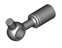 Raccordi ad occhio diritti 10mm per freni  - GBHFB15