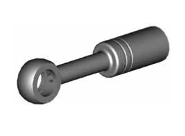 Raccordi ad occhio diritti 10mm per freni  - GBHFB34