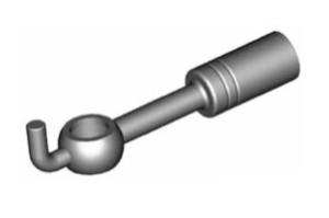 Raccordi ad occhio diritti 10mm per freni  - GBHFB35