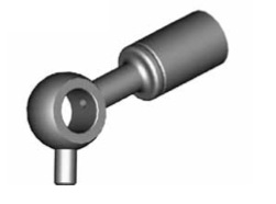 Raccordi ad occhio diritti 10mm per freni  - GBHFB350