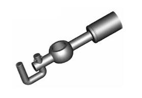 Raccordi ad occhio diritti 10mm per freni  - GBHFB365