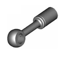 Raccordi ad occhio diritti 10mm per freni  - GBHFB37
