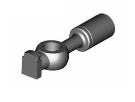 Raccordi ad occhio diritti 10mm per freni  - GBHFB375