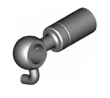 Raccordi ad occhio diritti 10mm per freni  - GBHFB50 - GBHFB73