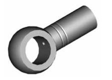 Raccordi ad occhio diritti 15mm per freni  - GBHFB19