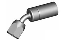 Raccordi femmine girevoli 45° per tubi freno - GBHF10