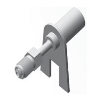Raccordi maschi girevoli metrici per tubi freno - GBHF116
