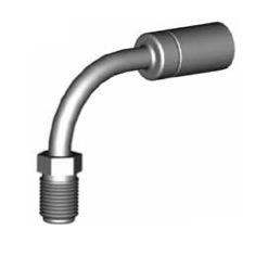 Raccordi maschi girevoli 90° per tubi freno - GBHF06