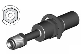 Raccordi maschi girevoli per tubi freno - GBHF100