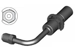 Raccordi maschi girevoli per tubi freno - GBHF101