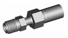 Raccordi maschi girevoli per tubi freno - GBHF28