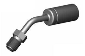 Raccordi Maschio girevole 45° per tubi freno - GBHF33SS