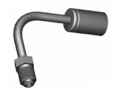 Raccordi Maschio girevole 90° per tubi freno - GBHF46SS