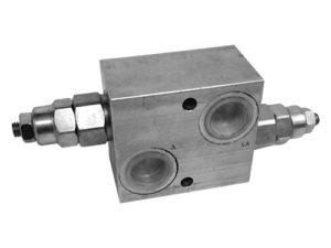 Valvole limitatrici di pressione doppia incrociata