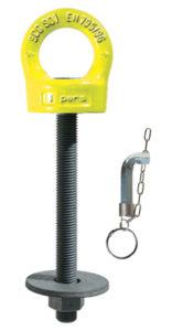 Dispositivo girevole anticaduta con vite (DPI) EN795 - Serie 901X