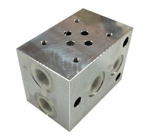 Piastra componibile per elettrovalvola CETOP 3 - in serie