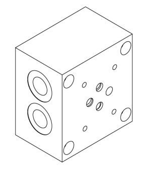 base-per-singola-elettrovalvola-cetop-3-in-linea-3