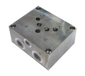 Base per singola elettrovalvola CETOP 5