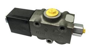Deviatore elettrico 3 vie 350 bar 100 l/min - Ghisa