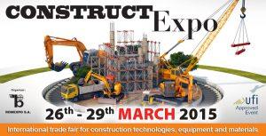 CONSTRUCT EXPO - Bucharest - 26/29 marzo 2015