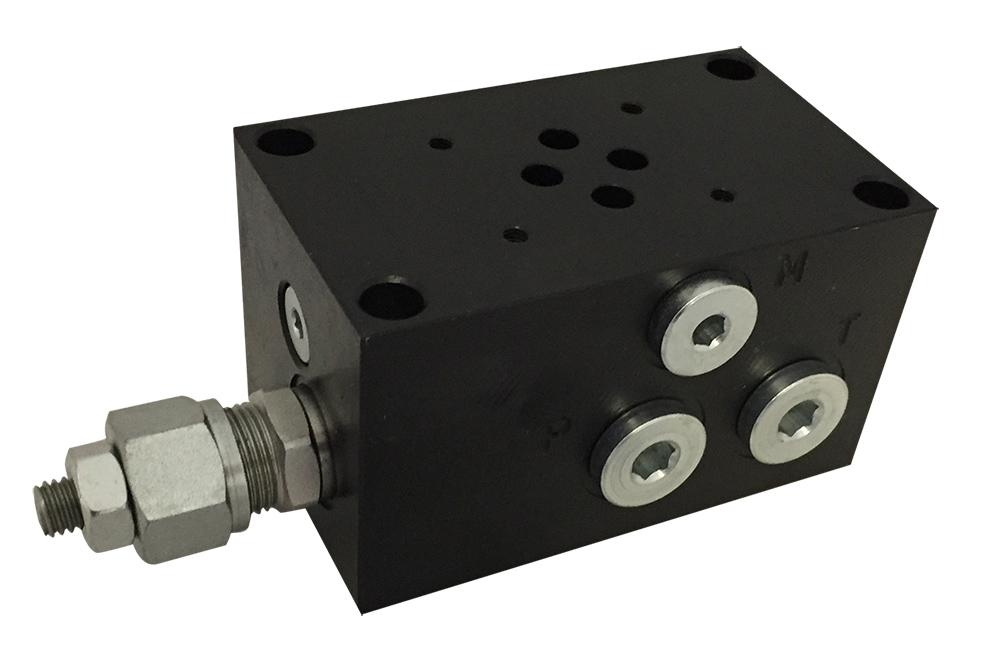 base-per-singola-elettrovalvola-cetop-3-con-valvola-limitatrice-di-pressione-connessioni-laterali-img
