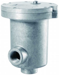 Supporto filtro in scarico o aspirazione a semi immersione bassa pressione 15 bar