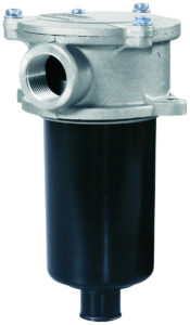 Supporto filtro in scarico o aspirazione a semi immersione bassa pressione 3 bar