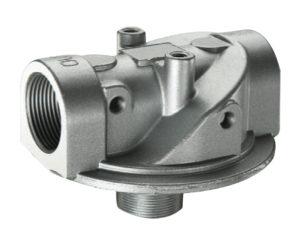 Supporto filtro (SPIN-ON) in aspirazione bassa pressione 0,25 bar con By-pass