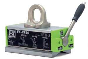 FX-R Sollevatori magnetici permanenti speciali per elementi circolari
