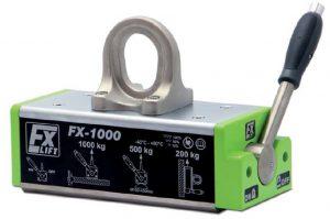 FX Sollevatori magnetici permanenti universali