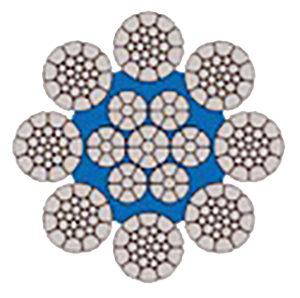 ROBOLIFT 8CPHD - 8 trefoli compattata con anima plastificata